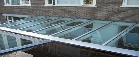 Aluminium glasprofielen lichtstraat