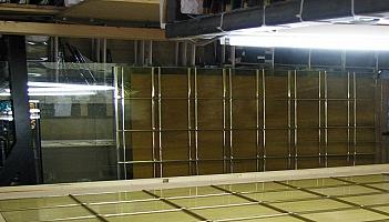 Koperprofiel voor glas in koper
