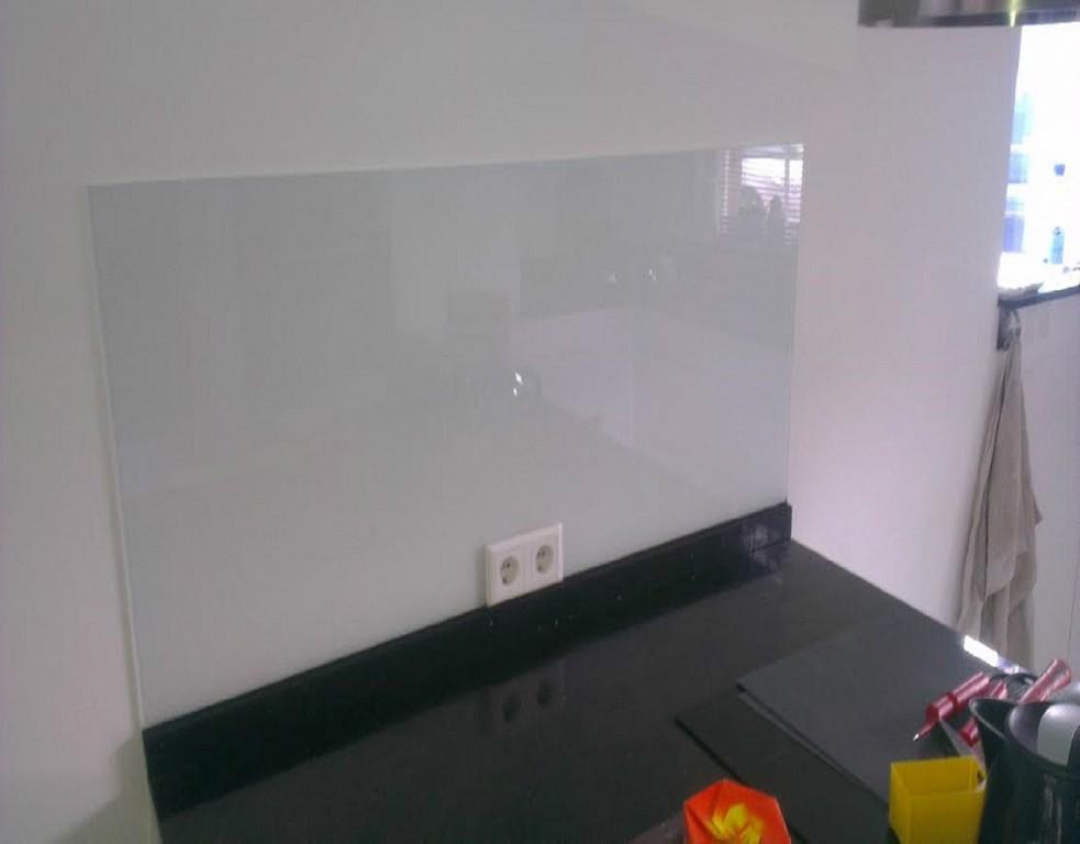 Glaswand Keuken Foto : Glaswand keuken landheerglas